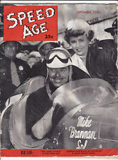 VINTAGE AUTO RACING: SPEED AGE V4 #5 (9/50) ~CLARK GABLE/BARBARA STANWYCK~