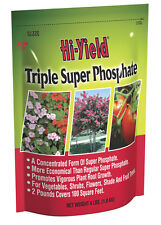Lot of 3 Hi-Yield Triple Super Phosphate 4 lb 0-45-0 phosphorous fertilizer