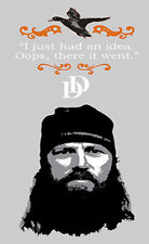 "DUCK DYNASTY JASE wall stickers MURAL 12 decals Redneck quote room decor 14""x33"""