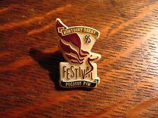 Kentucky Derby Lapel Pin - Vintage 1995 Louisville Kentucky USA Pegasus Festival