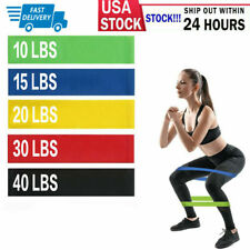 Heavy Duty Resistance Bands Set 5 Loop for Gym Exercise Pull up Fitness Workout