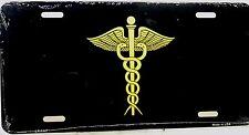 Novelty license plate Medical Doctors emblem New Aluminum Auto Tag MD emblem car