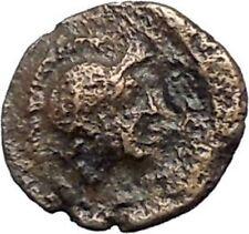 PERGAMON in MYSIA 310BC Hecules Athena Authentic Ancient Greek Coin i48664