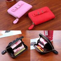 femmes Portefeuille en cuir PU pour La mode avec porte-cartes et porte-cartes