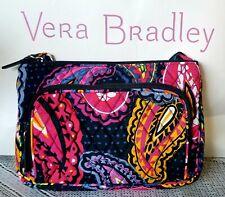 Vera Bradley in retired TWILIGHT PAISLEY Little HIPSTER cross-body bag EXACT