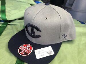 7 3/8 UC Davis University of California Baseball Hat Cap Zephyr New Square Brim