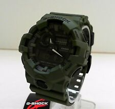 New Casio G-Shock GA-700UC-3A  Olive Green Ana Digi World Time Watch