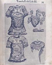 Vintage Roman Medical Anatomy Chart Mutter Illustration 8x10 Canvas Art Print