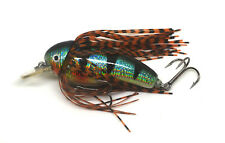 Skirted Silver perch fishing lure plug for pike, perch and bass UK 1st class