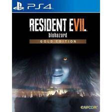 PlayStation 4 Resident Evil 7 Biohazard Gold Edition