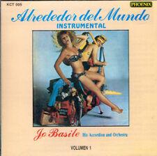 Jo Basile His  Accordion & Orchestra Alrededor del Mundo    BRAND NEW SEALED  CD
