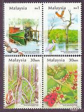 [SS] Malaysia 2004 Matang Mangroves Park Perak STAMP SET
