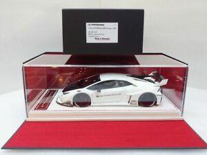 Davis & Giovanni 1/18 LB PERFORMANCE Huracan GT White Carbon Bonnet #DG180122A