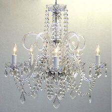 "Crystal Chandelier Chandeliers Lighting H25"" x W24"""