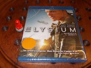 Elysium Sony Blu-Ray ..... Nuovo
