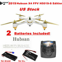 Hubsan H501S X4 FPV Brushless Drone W/1080P GPS Follow Me RC Quadcopter US Stock