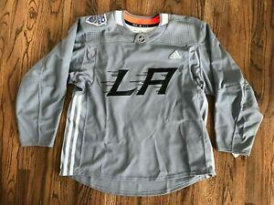 57 RARE Adidas L.A. Kings Stadium Series 2020 On-Ice Jersey Sz 56 (2XL)