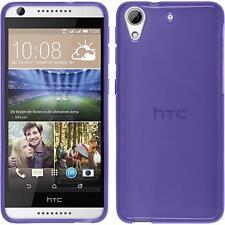 Silicone Case for HTC Desire 626 transparent purple Case