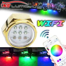 27w Wifi Contrôle RGB Led Drain Marine Bateau Lumière Yacht Diving Pêche Lampe