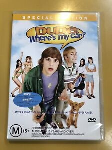 DUDE, WHRRE'S MY CAR - Special Edition  Genuine R4 DVD (vgc/nm) Free Oz Post