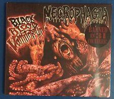 Necrophagia – Black Blood Vomitorium Death Metal Horror CD EP digipak