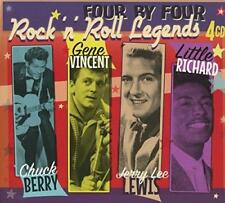 Chuck Berry Gene Vincent Jerry Lee Lewis Little Richard - Rock 'N' Rol (NEW 4CD)