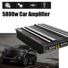 c-266 5800W 4CH alta potenza auto amplificatore audio basso AMP ALLUMINIO 12V