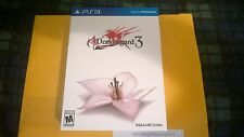 Drakengard 3 BOX ONLY Collectors Edition 1 of 5,000 NO OTHER ITEMS