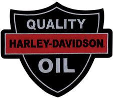 "HARLEY-DAVIDSON Parche/Emblema ""QUALITY Oil "" patch em1160306 grande"
