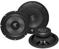 HIFONICS VX6.2W 16,5cm Kickbass 4 Ohm 100 WRMS Mitteltöner 1 Paar