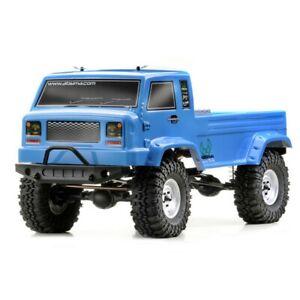 12003 Absima CR2.4 Electric 1/10 Scale RC Radio Control Crawler Truck Blue Boxed