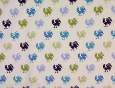 RPG152 Le Coq De Granville Roosters Country Chicken RARE Cotton Quilt Fabric