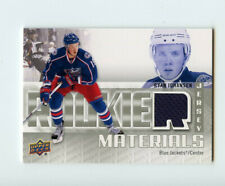 11/12 UPPER DECK ROOKIE RC MATERIALS JERSEY RYAN JOHANSEN BLUE JACKETS *68361