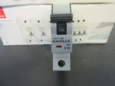 HAVELLS 20A SINGLE POLE TYPE B MCB 10ka PSH120B 20 amp