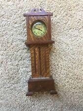 Vintage Antique Tiger Oak Pocket Watch Display