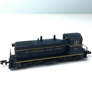 LIFE-LIKE N SCALE SW9/1200 DIESEL SWITCHER LOCOMOTIVE Baltimore & Ohio #602