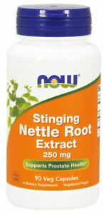 Now Foods - Stinging Nettle Root Extract 250 mg, 90 Veg Capsules