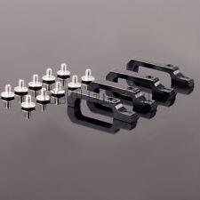 BLACK Aluminum Door Handle For 1/10 TRAXXA TRX-4 TRX4 Defender D110 Body