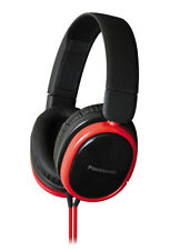 Panasonic Hx250 Noise Isolation Overhead Stereo Headphones Headset Gift Red