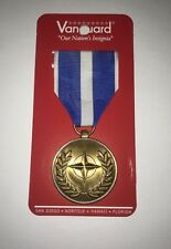 NATO MEDAL KOSOVO CAMPAIGN FULL SIZE RIBBON US MILITARY