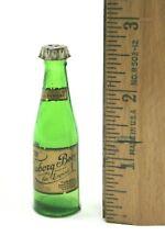 Miniature Tuborg Beer Bottle w/ Paper Label & Shaker Cap FREE SHIP