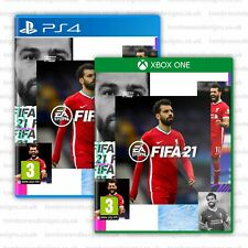 FIFA 21 Cover - Mohamed Salah for XBOX PS4 - Liverpool FC FIFA 21 Cover LFC