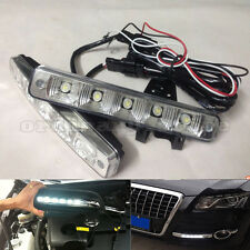Waterproof Super Bright 15W 5 LED Car DRL Daytime Running Light Driving Fog Lamp