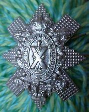 Royal Highland Black Watch Cap Badge KC WM 2 Lugs ANTIQUE Original