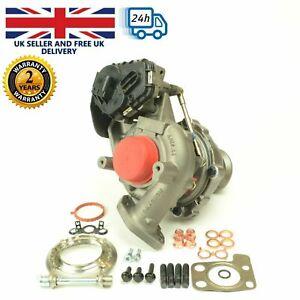 Turbocharger Ford Focus, Transit Con 1.5 TDCI EcoBlue. Turbo 845275, 9813241380.