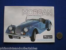Morgan Sports Cars Range  Sales Brochure 1978