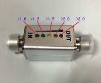 1Mhz-30Mhz  HF 40W LED VSWR INDICATOR Connector  MINI SWR