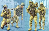 1/35 Resin Modern Russian Soldiers 4 Kit Unassembled Unpainted QJ148