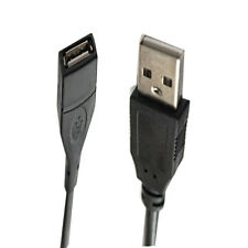 0.8 Black USB 2.0 A Male to A Female Extension Extender Cable high Quality