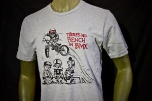 "NEW Nowear BMX Rad Series Radical Rick ""No Bench"" Tee shirt old new school USA"